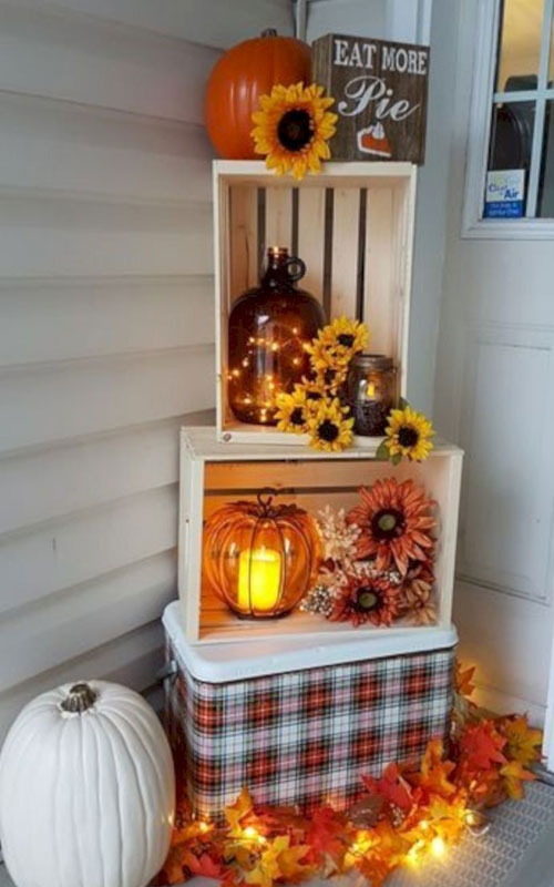 Thanksgiving Decor - Entryway Thanksgiving Decorations