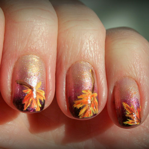 Thanksgiving Nail Designs - Fall Nail Colors
