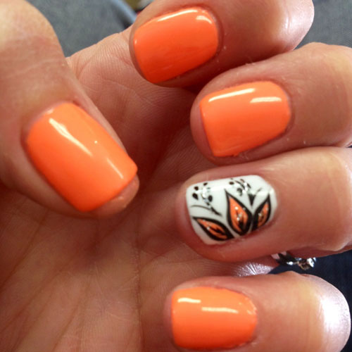Thanksgiving Nails - Nail Color Ideas