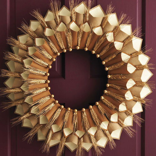 Thanksgiving Wreath Ideas - Thanksgiving Decor - DIY Decor