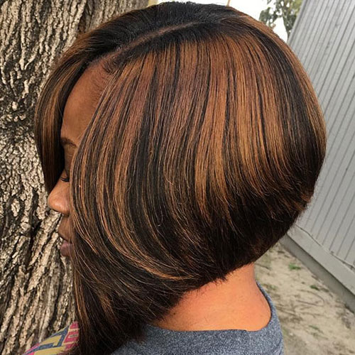 A-line Bob Hairstyle - Bob Weave Hairstyles