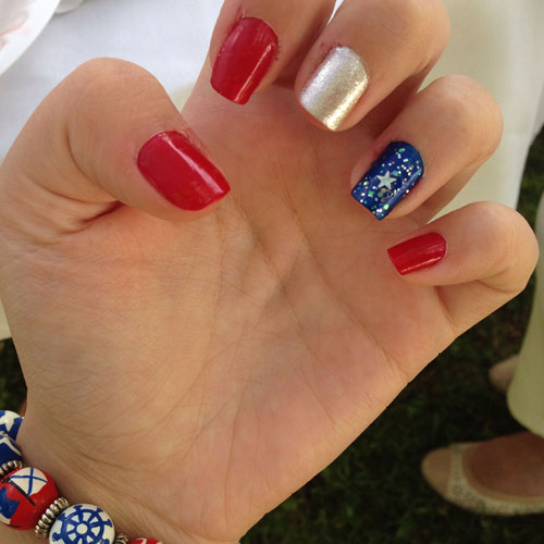 Classic Fourth of July Nails